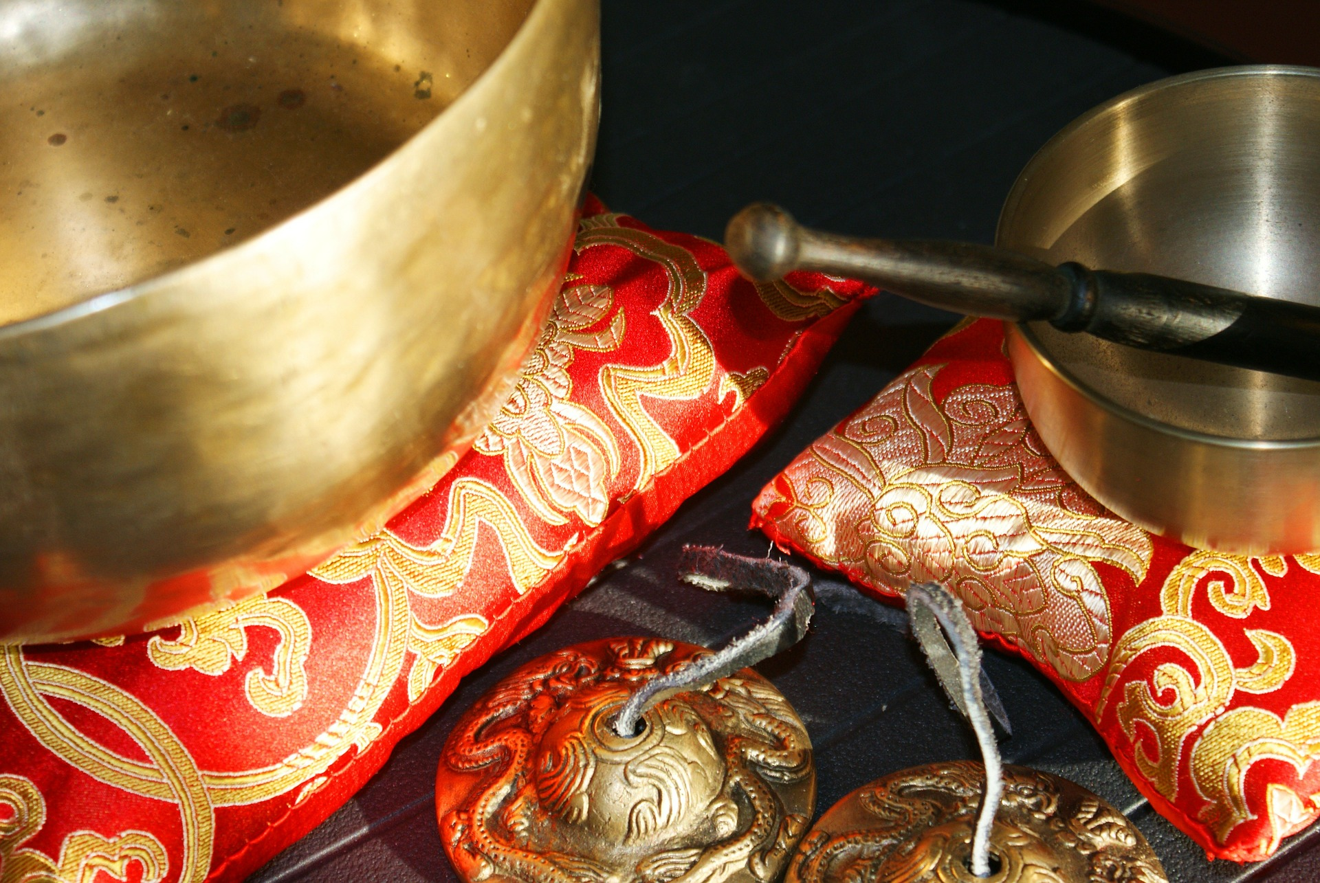 Sound Healing: What Monks do to put Spiritual Energy into a Singing Bowl!