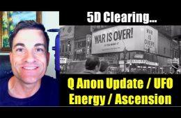 Energy Clearing Anon Update - FBI, John Lennon UFO, Deep State