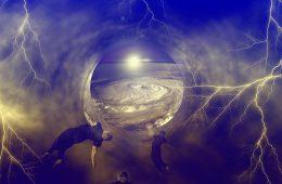 Dimension Hopping through Music