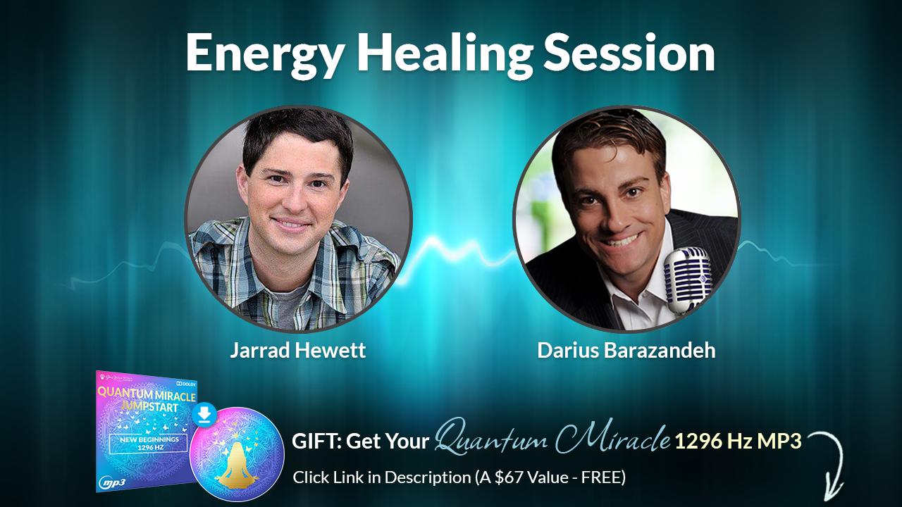 Jarrad Hewett Meditation - Energy Clearing Healing, Psychic Soul Healing