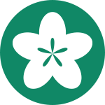 Flower representing relaxation and centering