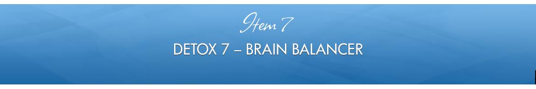 Item 7: Brain Balancer