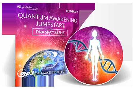 Quantum Awakening Jumpstart DNA Spa™ 852 Hz