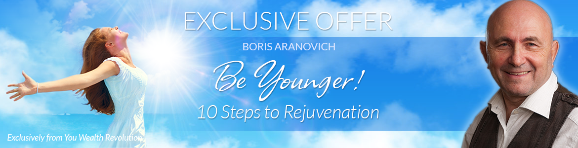 Be Younger! 10 Steps to Rejuvenation