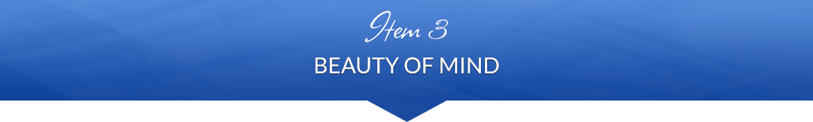 Item 3: Beauty of Mind
