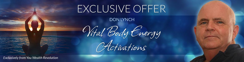 Vital Body Energy Activations