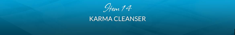 Item 14: Karma Cleanser