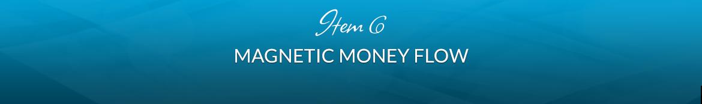Item 6: Magnetic Money Flow