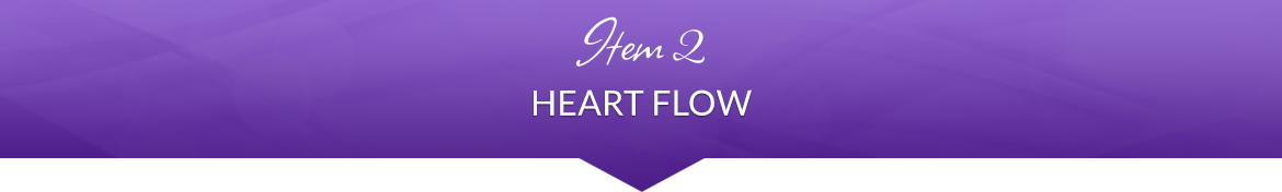 Item 2: Heart Flow