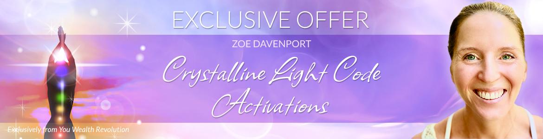 Crystalline Light Code Activations