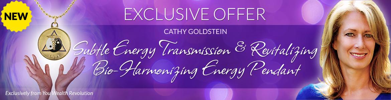 Subtle Energy Transmission & Revitalizing Bio-Harmonizing Energy Pendant