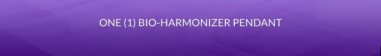 Item 1: One (1) Bio-Harmonizer Pendant