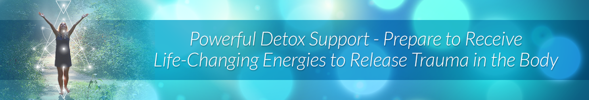 Powerful Detox Support - Prepare to Receive Life-Changing Energies to Release Trauma in the Body